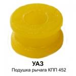 Подушка противошумная рычага КПП УАЗ 452.3741